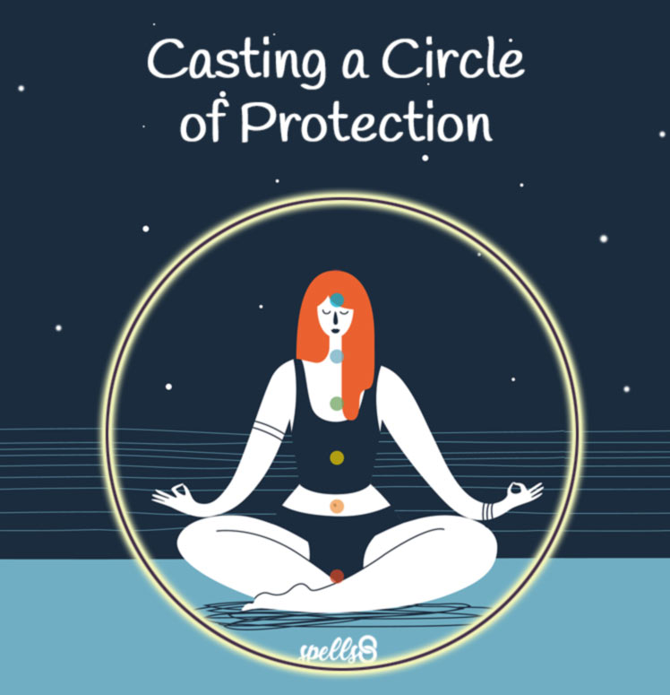 Casting a Circle of Protection for your Spells