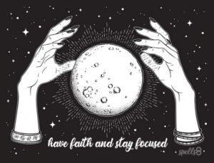 Faith + Focus = Effective Spells