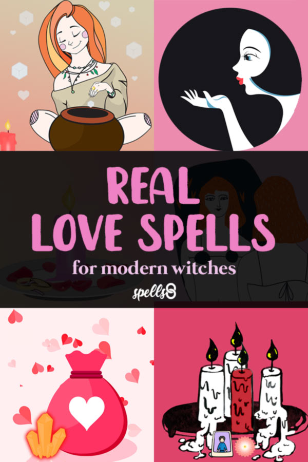 Simple Love Spells that Work! For Modern Witches