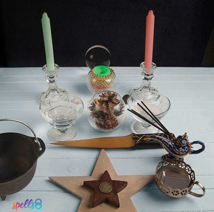 Setting your altar
