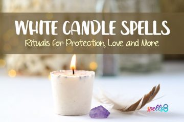 White Candle Spells