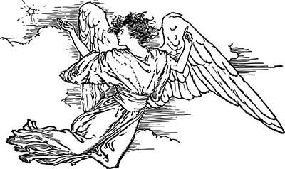 Print Angel for Prayer to get a job