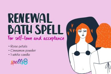 Renewal Bath Spell: Self-Love & Spiritual Acceptance