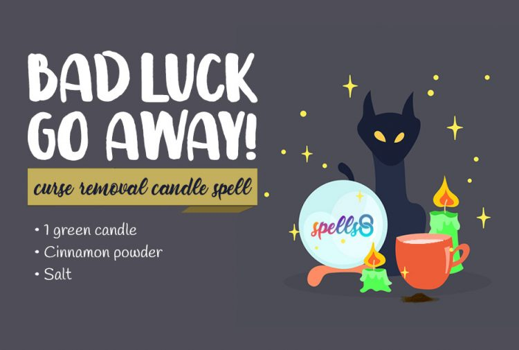 Bad Luck Go Away Candle Spell for Curse Removal