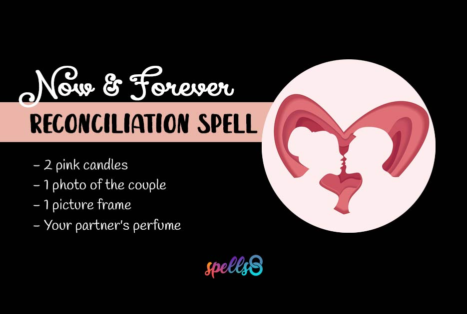 'Now & Forever': Reconciliation Spell with Candle and Photo