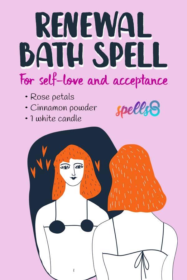 Renewal Bath Spell: Self-Love & Spiritual Acceptance