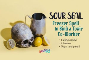A Freezer Spell to Bind a Toxic Co-Worker