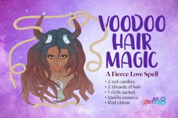 Voodoo Love binding Spell with Hair