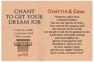 Spell to Get Your Dream Job