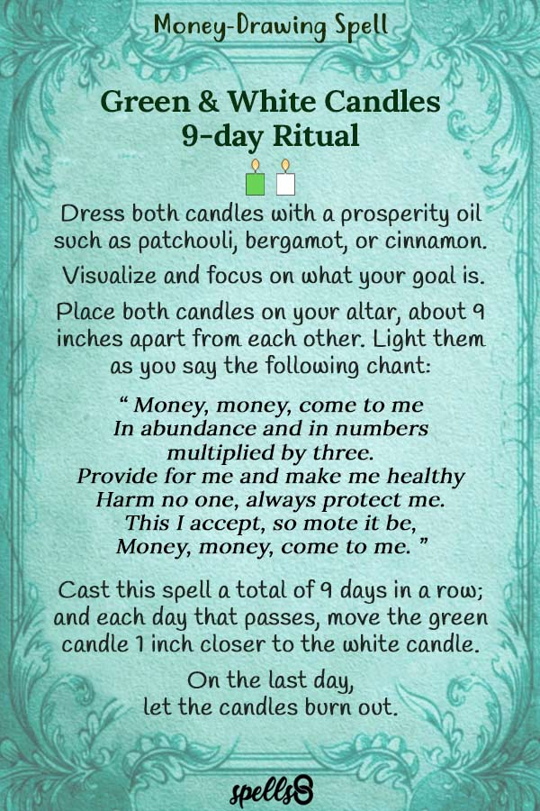 9-Day Money-Drawing Spell