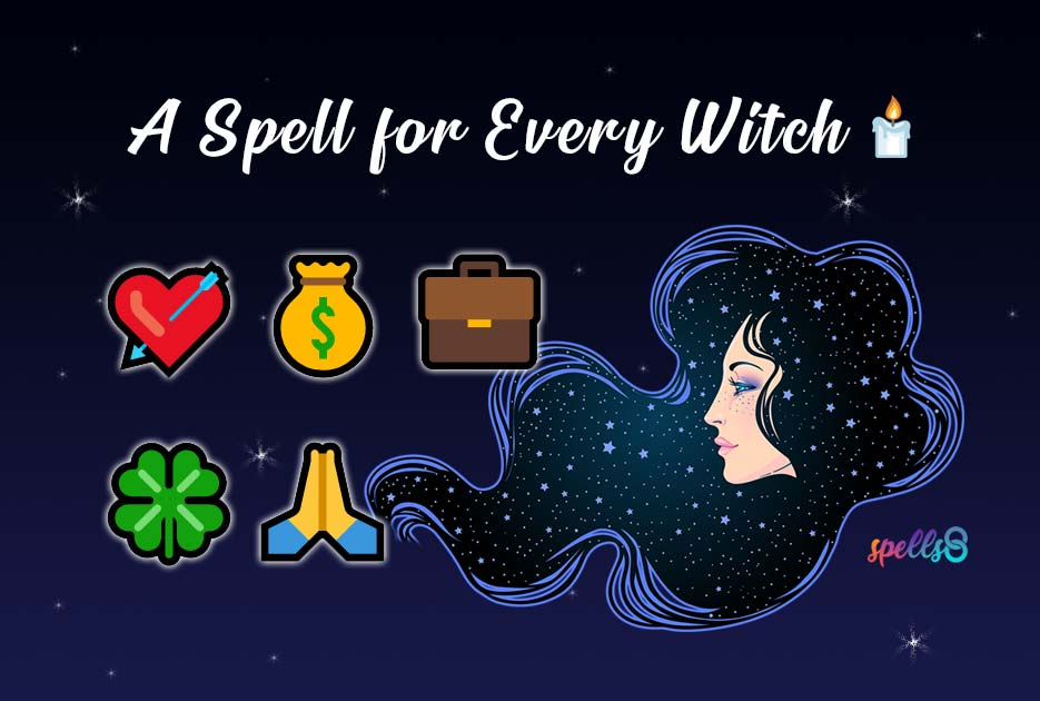 Witchcraft Wiccan Types of Spells