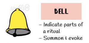 Bell Wiccan Magic tools