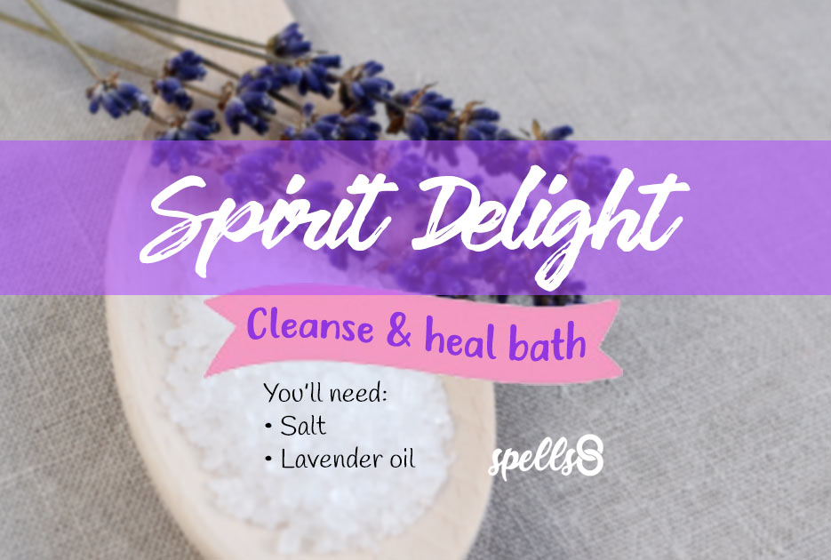 Cleansing Spiritual bath with Salt