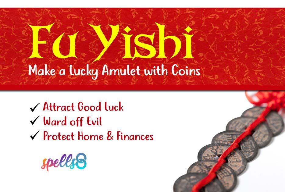 Good Luck Full Moon Spell Amulet