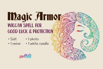 Magic Armor Good Luck Spell