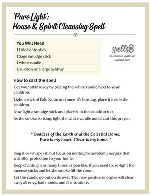 Pure Light House Spiritual Cleanse