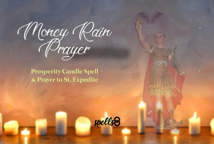 White Candle Prayer For Money