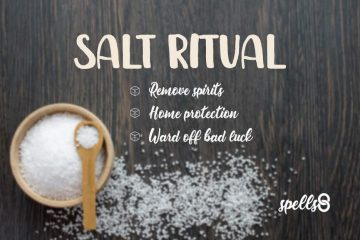 'Elemental Protection': Home-Cleanse Spell with Salt