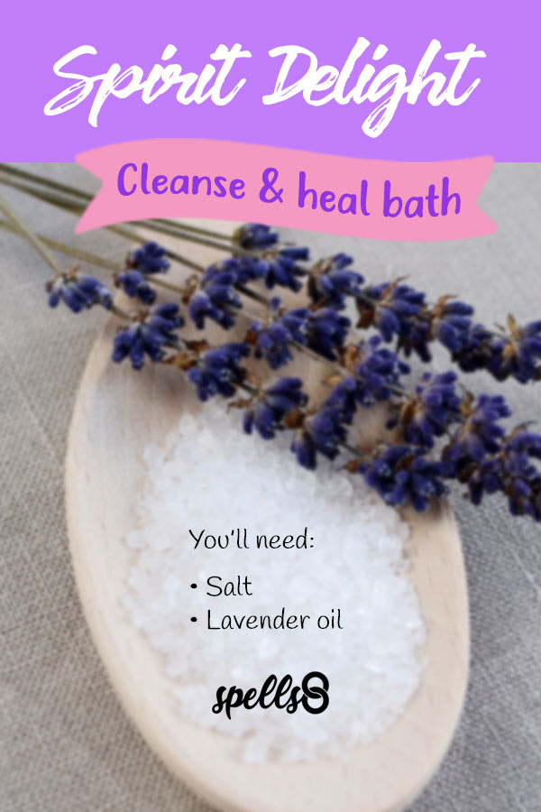 Spirit Delight: Cleanse and Heal Bath with Salt