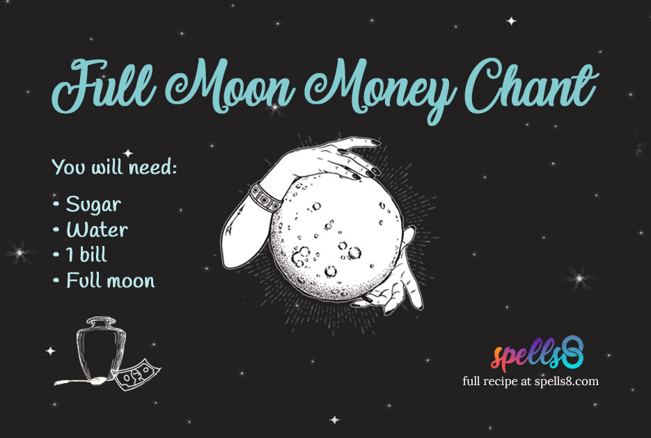 'Moon Boon Chant': Wiccan Magic to Attract Money