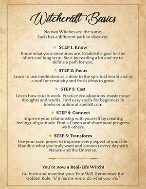 5 Tips For Beginner Witches