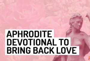 Aphrodite Love Devotional Wiccan