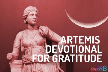 Artemis Daily Wiccan Devotional Prayer