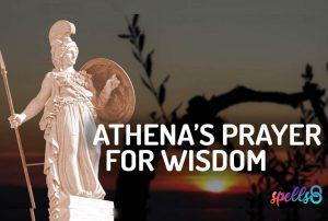Athena Devotional Wiccan Prayer