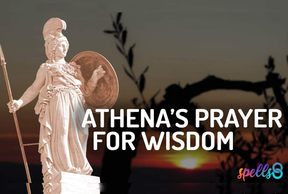 Athena Devotional Wiccan Prayer