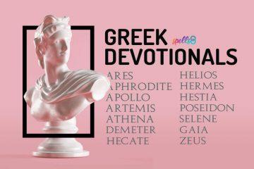 Greek Deities Wiccan Devotionals