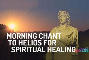 Helios Wiccan Devotional Prayer