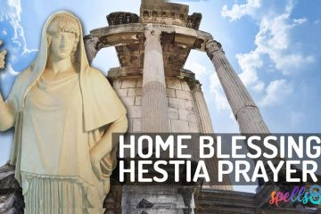 Hestia Wiccan Devotional Prayer