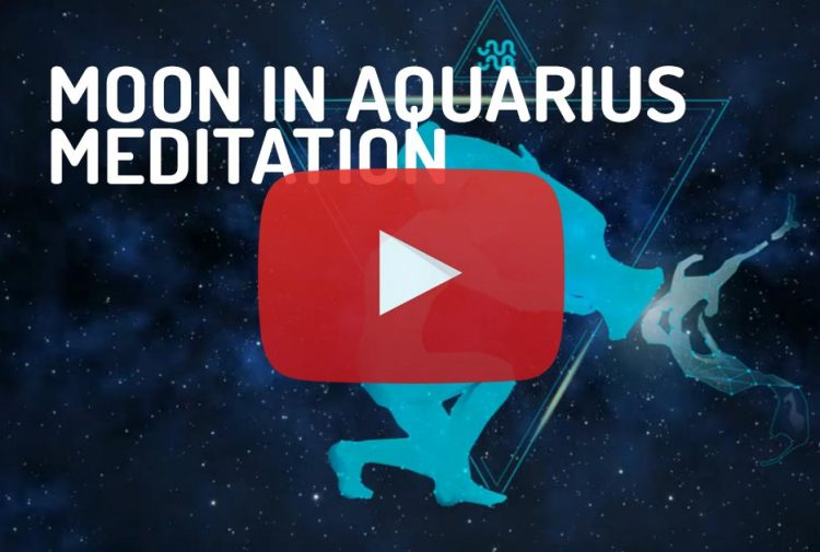 Moon in Aquarius Meditation