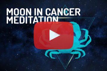 Moon in Cancer Zodiac Meditation