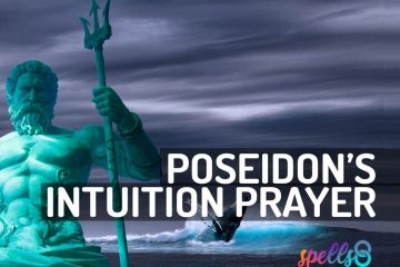 Poseidon Wiccan Devotional Prayer
