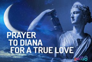 Prayer Diana Wiccan Devotional