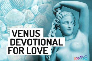 Venus Wiccan Devotional Prayer