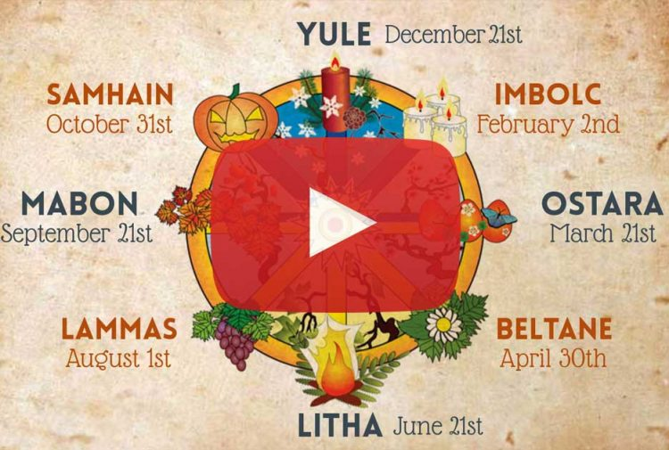 Wheel of the Year Wicca Video
