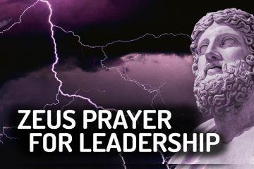 Zeus Wiccan Devotional Prayer