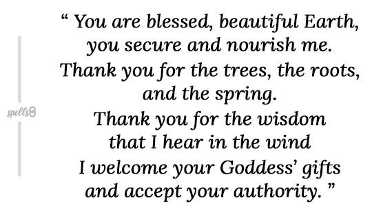 Beltane Prayer text