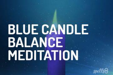 Blue Candle Balance Guided Meditation