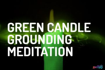 Green Candle Grounding Meditation