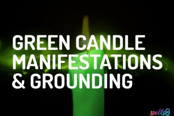 Green Candle Spells