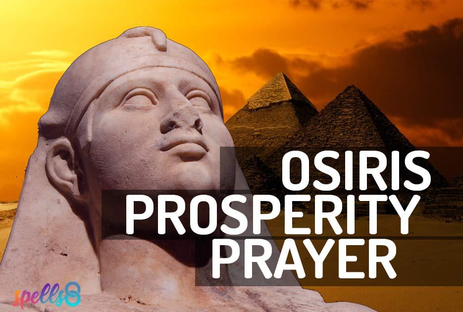 Osiris Prayer Devotional Wiccan