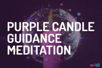 Purple Candle Meditation