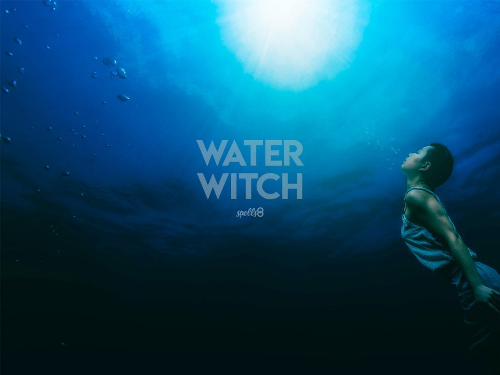 Wiccan wallpaper: Water Witch