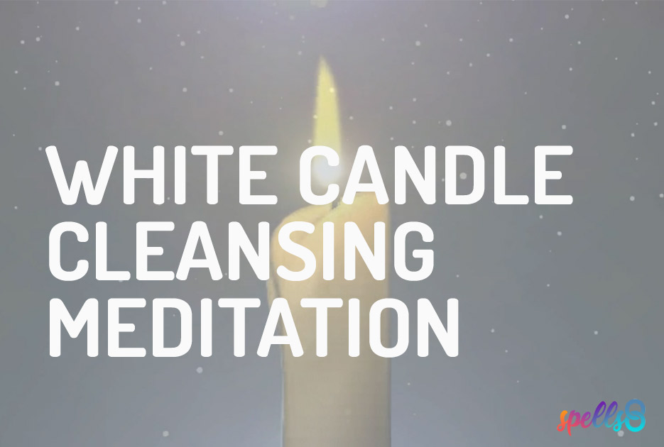 White Candle Cleansing Meditation
