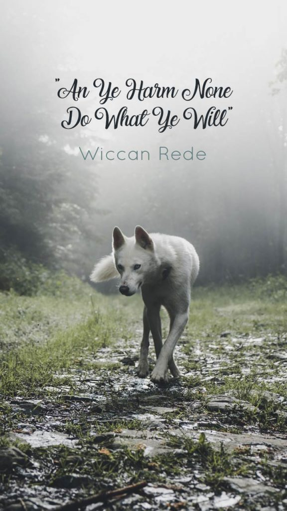 Wiccan Rede Wallpaper for Download