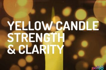 Yellow Candle Spells for Strength & Clarity