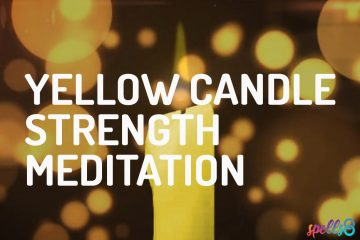 Yellow Candle Strength Guided Meditation